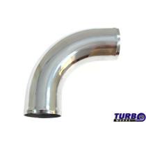 Aluminium cső 90 fok 76mm 30cm